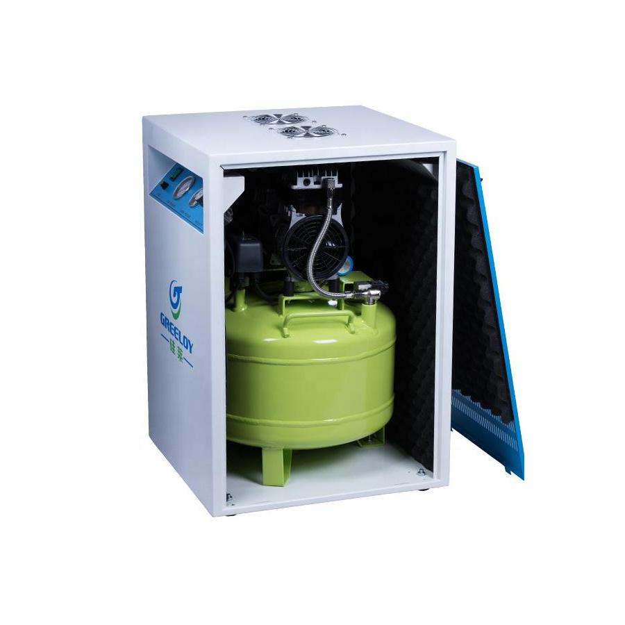 Compresor Aer UltraSilentios 40L Greeloy